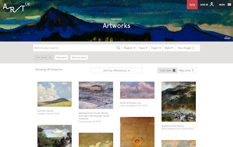 art-uk-search